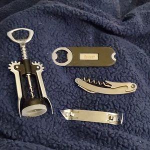 Wine and bottle openers